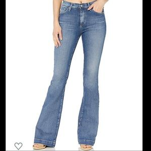 Adriano Goldschmeid Janis flare jeans